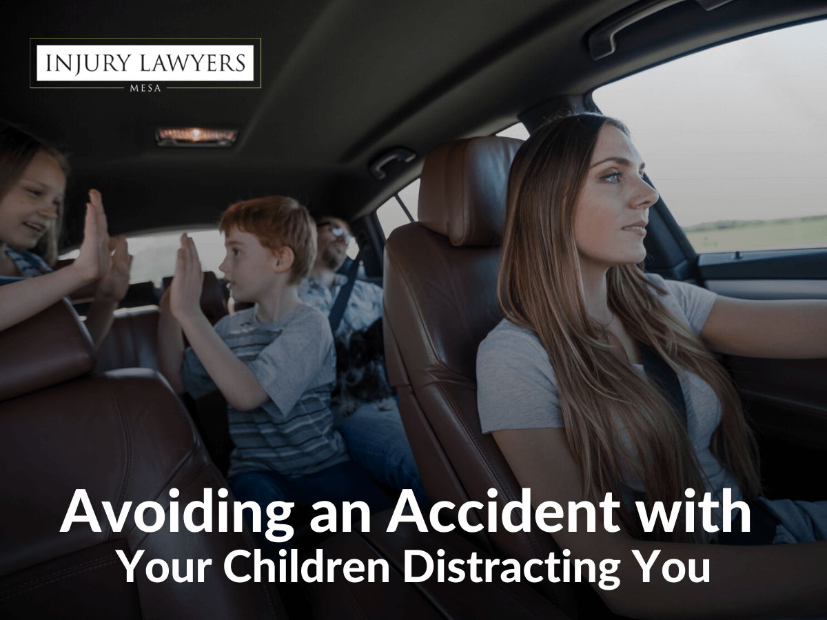 Avoiding an Accident with Your Children Distracting You