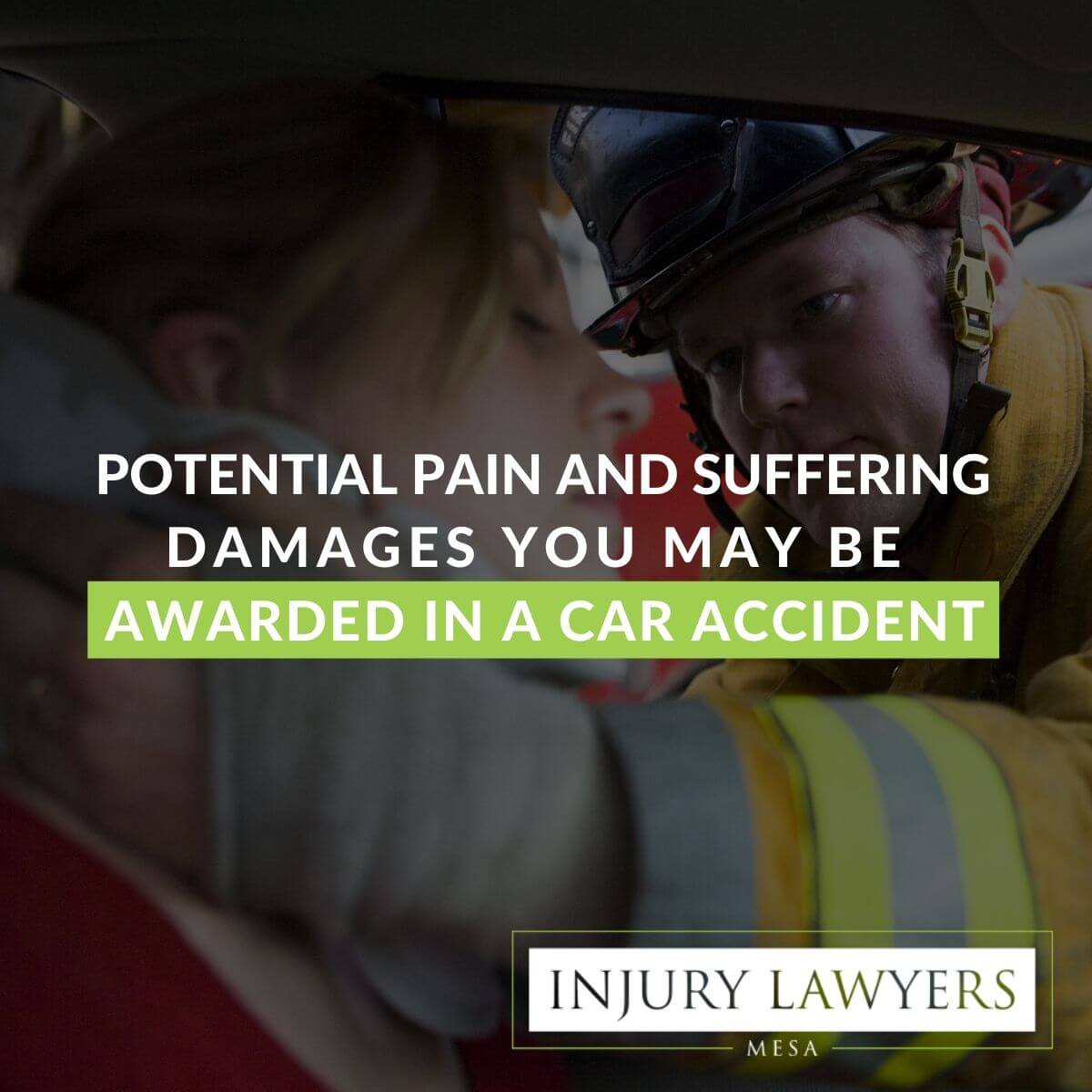 Potential Pain and Suffering Damages You May be Awarded in a Car Accident
