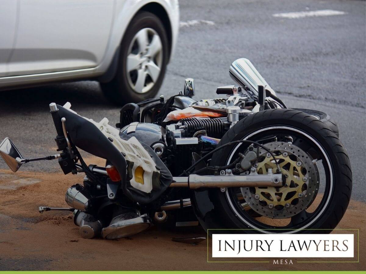 Accident with a motorcyclist who has been driving drunk