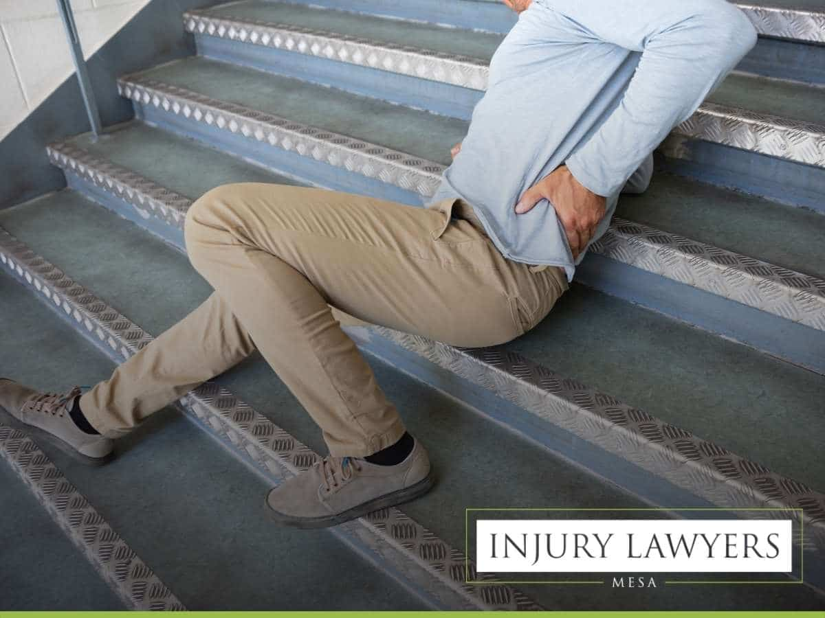 Man Suffering From An Injury After A Slip & Fall Accident In Mesa, AZ