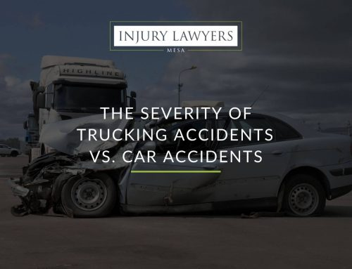 The Severity of Trucking Accidents vs. Car Accidents