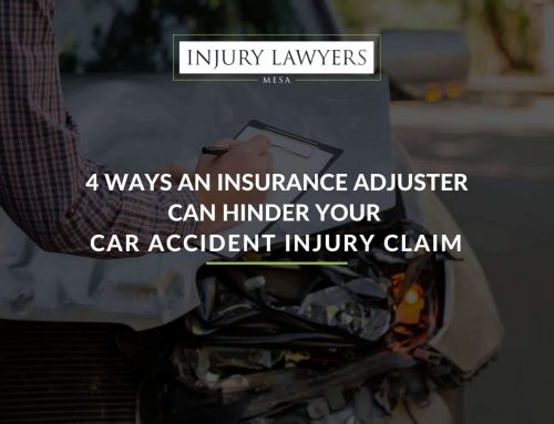 4 Ways an Insurance Adjuster Can Hinder Your Car Accident Injury Claim