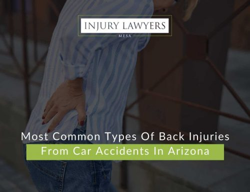 Most Common Types Of Back Injuries From Car Accidents In Arizona