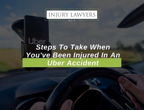 Steps To Take When You've Been Injured In An Uber Accident